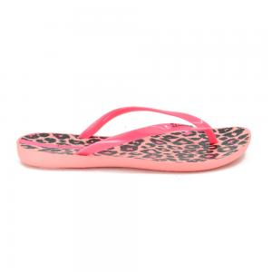 Ojota Chancleta Animal Print Ipanema Pink