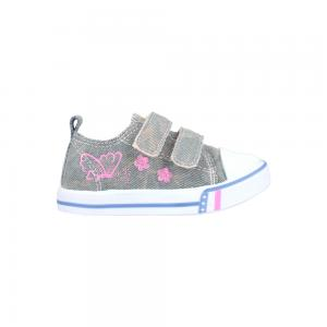 Zapato Deportivo con Doble Velcro Guga Jeans Butterfly Talles 19-24