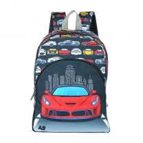 Mochila American Sport Red Car