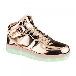 Bota Deportiva Con Luces American Sport Glimmer Talle 36-39
