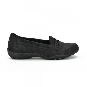 Zapato Casual Skechers Relaxed Fit Breathe Easy Sole Full Black