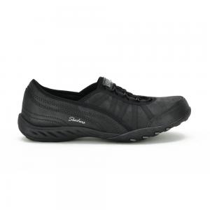 Zapato Casual Skechers Breathe Easy Adoring Wide Fit Horma Ancha Black
