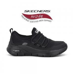 Champion Deportivo Skechers Slip on Arch Fit Wide Fit Horma Ancha