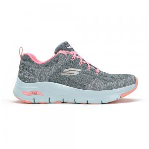 Champion Deportivo Skechers Arch Fit Comfy Wave Grey