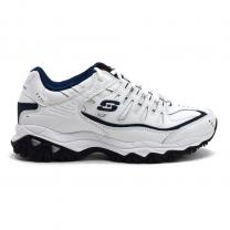 Champion  Skechers After Burn Memory Fit White