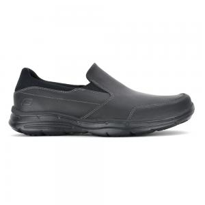 Zapato Casual Skechers Glides Wide Fit Horma Ancha Black