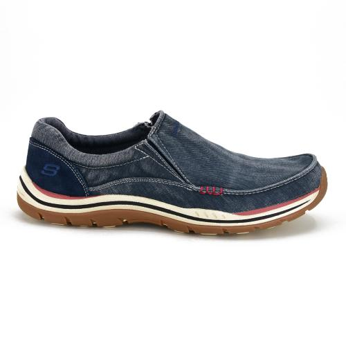 Zapato Casual Skechers Relaxed Fit Expected Avillo Navy