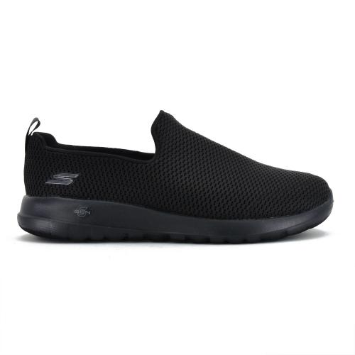 Champion Deportivo Skechers GoWalk Max Slip-on Wide Fit Horma Ancha Black