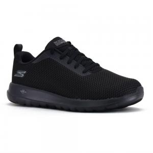 Champion Deportivo Skechers Go Walk Max Wide Fit Horma Ancha Black