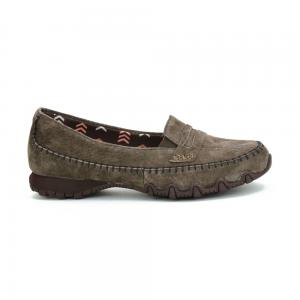 Zapato Confort Skechers Relaxed Fit Bikers Penny Lane Brown