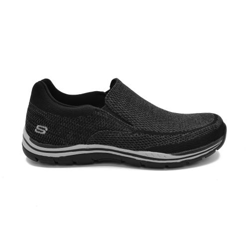 Zapato Casual Skechers Expected Gomel Wide Fit Horma Ancha Black