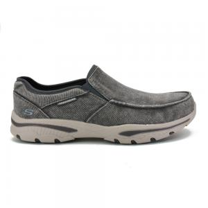 Zapato Skechers Relaxed Fit Creston Moseco Wide Fit Horma Ancha Grey