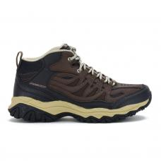 Bota Casual Skechers After Burn Memory Fit Geardo Brown