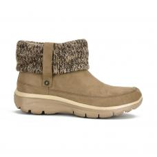 Bota Casual Skechers Relaxed Fit Easy Going Heighten Camel