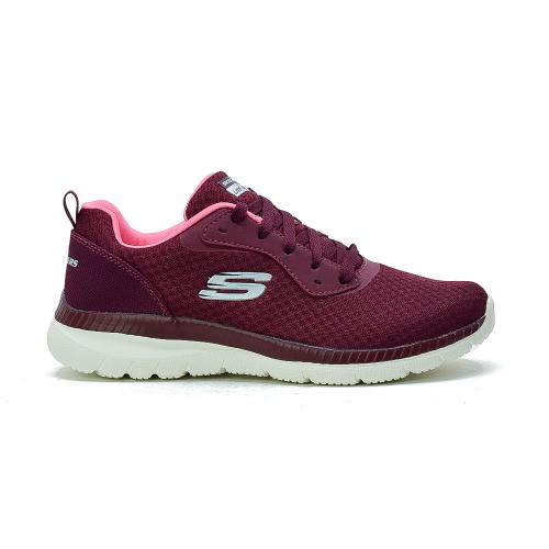 Champion Deportivo Skechers Bountiful Burgundy