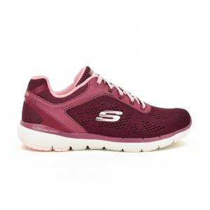 Champion Deportivo Skechers Flex Appeal 3.0 Burgundy