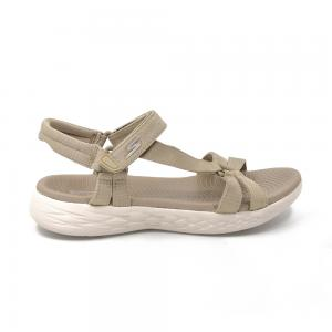Sandalia Casual Skechers On the GO 600 Brilliancy Beige