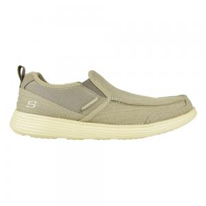 Zapato Casual Skechers Relaxed Fit Status Delton Camel