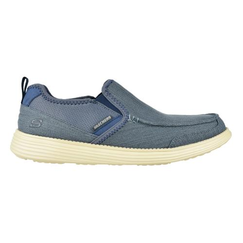Zapato Casual Skechers Relaxed Fit Status Delton Navy