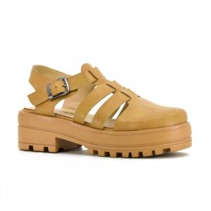Sandalia Casual Korium Candy Closed Toe con Plataforma