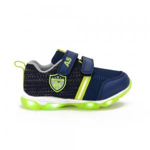 Champion Deportivo American Sport con Luces y Doble Velcro Police