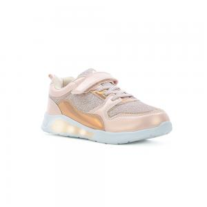 Champion Deportivo American Sport con Luces y Velcro Metal Space Talles 22-27