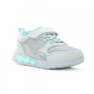 Champion Deportivo American Sport con Luces y Velcro Metal Space Talles 28-35