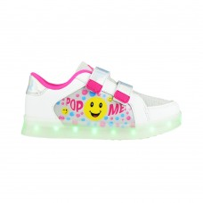 Champion Deportivo American Sport Con Luces y Velcro Smile Talle 28-31