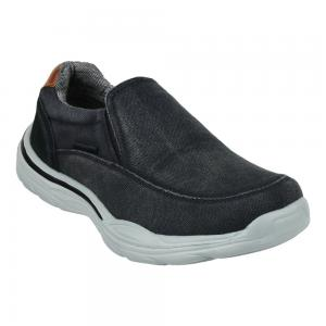 Zapato Mocasín Casual de tela Hanker Slip-on Denim