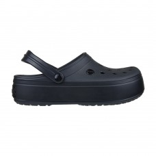 Crocs Crocband  Platform Clog All Black