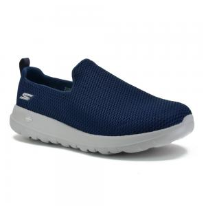 Champion Deportivo Skechers GoWalk Max Slip-on Wide Fit Horma Ancha Navy