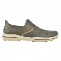 Zapato Casual Skechers Relaxed Fit Harper Trefton Brown