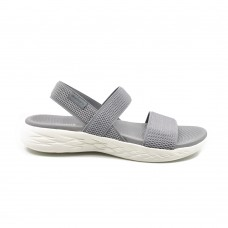 Sandalia Casual Skechers On the Go 600 Flawless Grey