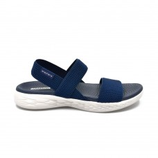 Sandalia Casual Skechers On the Go 600 Flawless Navy