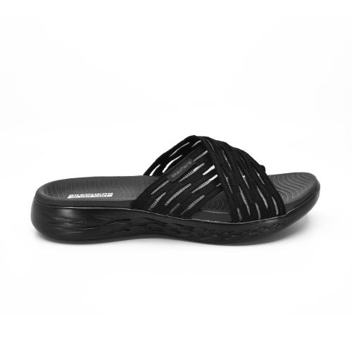 Sandalia Casual Skechers On the GO 600 Sunrise Black