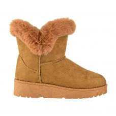 Bota Casual Korium Winter Slip-on Furry