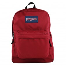 Mochila Clasica Jansport Superbreak Burgundy